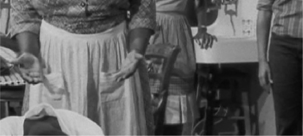Hands (2021), appropriated image from 1961 Columbia Pictures film version of A Raisin in the Sun